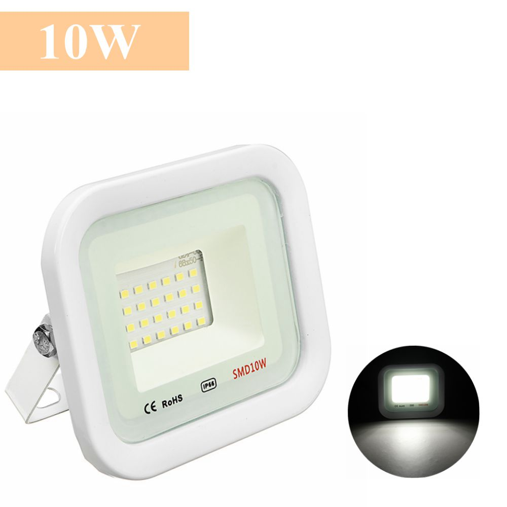 10W/30W/50W/100W White Light Waterproof IP66 LED Flood Light Thundering Protection Ourdoor AC220V