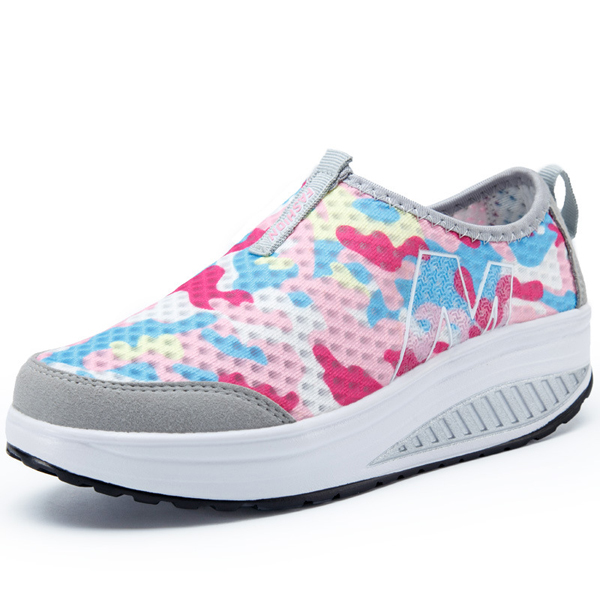 Women Outdoor Rocker Sole Shoes Casual Sport Flats