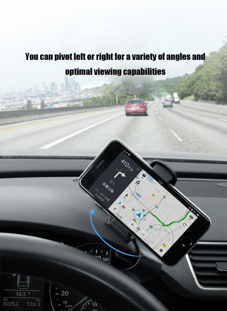 bakeey atl 2 antid rapant 360 rotation tableau de bord support sur la voiture pour iphone. Black Bedroom Furniture Sets. Home Design Ideas