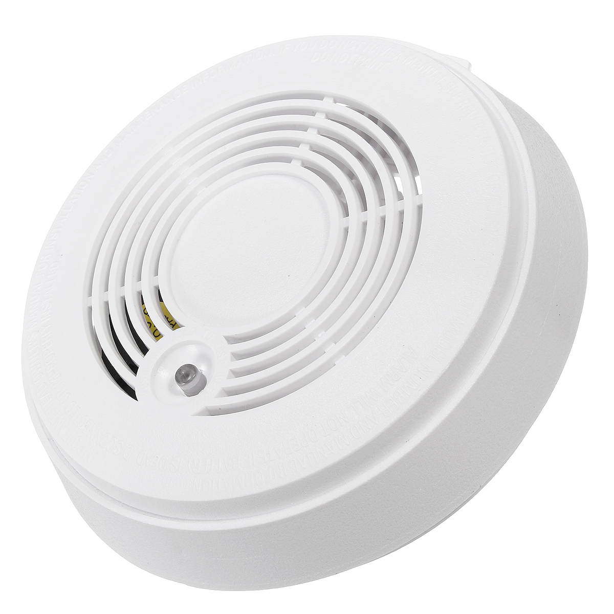 Wireless Cordless Smoke Sensor Detector Fire Alarm Home Guard Security System