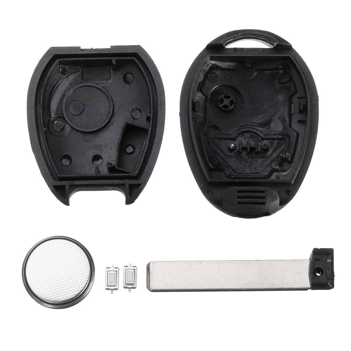 2 Buttons Remote Key Case Shell Repair Battery For BMW Mini One S Cooper R50