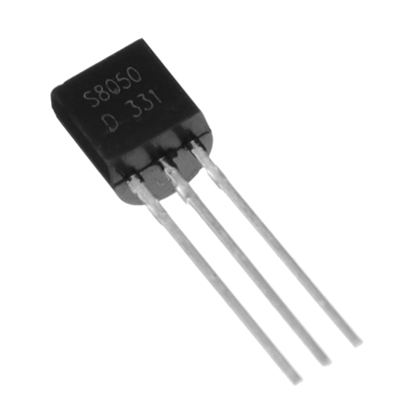 300pcs S8050 TO-92 NPN Power Transistor Triode Transistor Electronic Component Pack 25V 0.5A