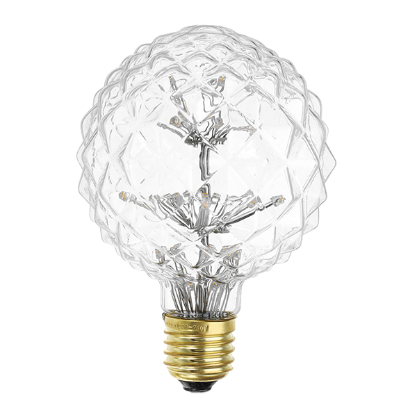E27 3W Vintage Edison Warm White Holiday Democratic Light Bulb for Party Christmas AC85-265V