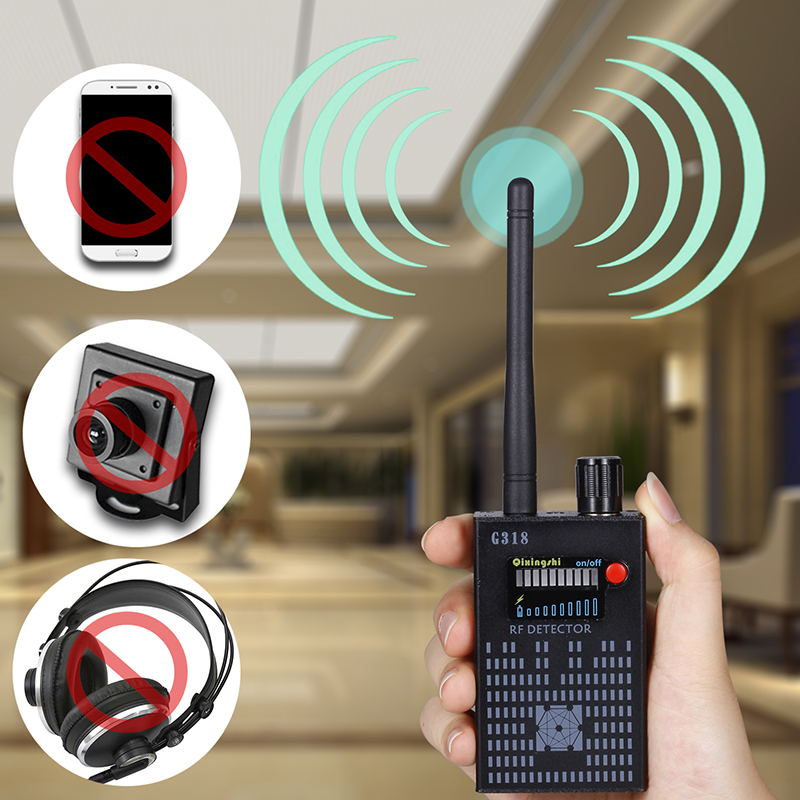 G318 Anti Wireless Camera Detector Gps Rf Mobile Phone Signal Detector Device Tracer Finder