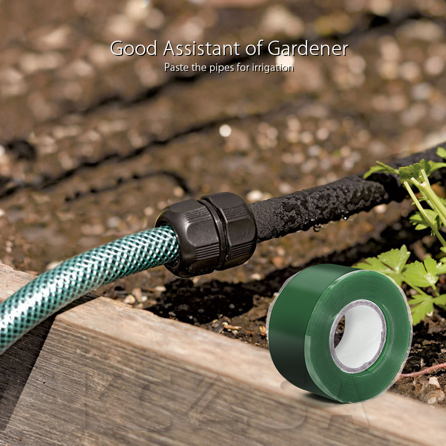 KCASA KC-YS8018 Gardening Universal Tape Useful Waterproof Silicone Hose Pipe Wire Repair Tape