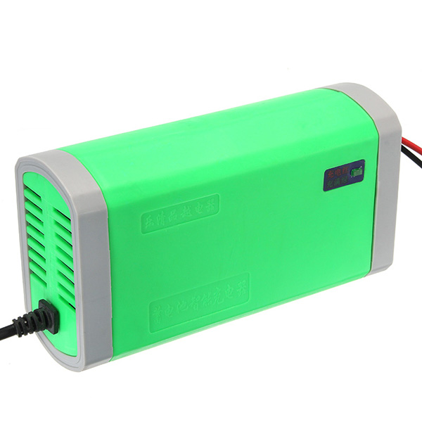 DC 12V 6A Smart Pulse Fast Battery Charger For Car Motorcycle Electric Scooter
