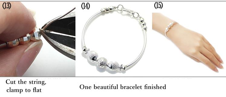 1m / 40inch 990 925 Sterling Silber Draht DIY Design Handgefertigte ...