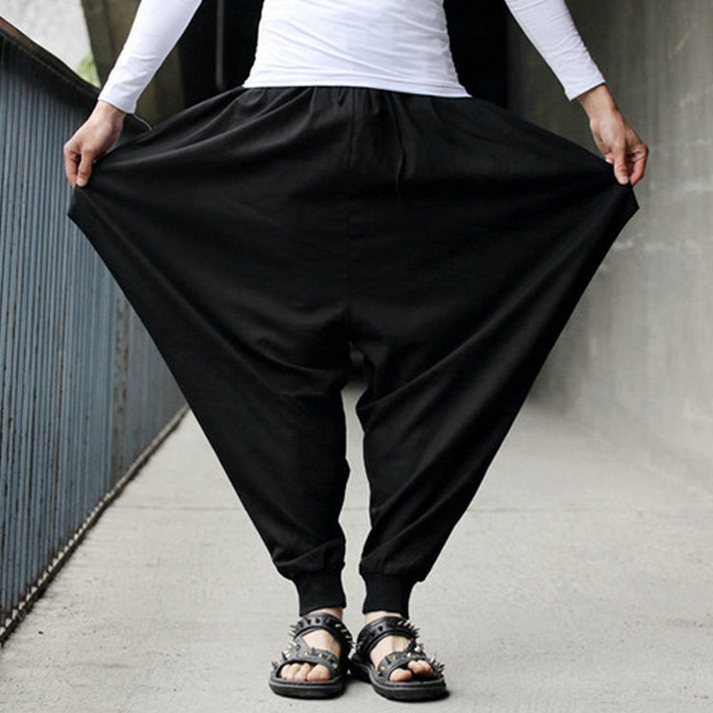 INCERUN Men Casual Harem Pants
