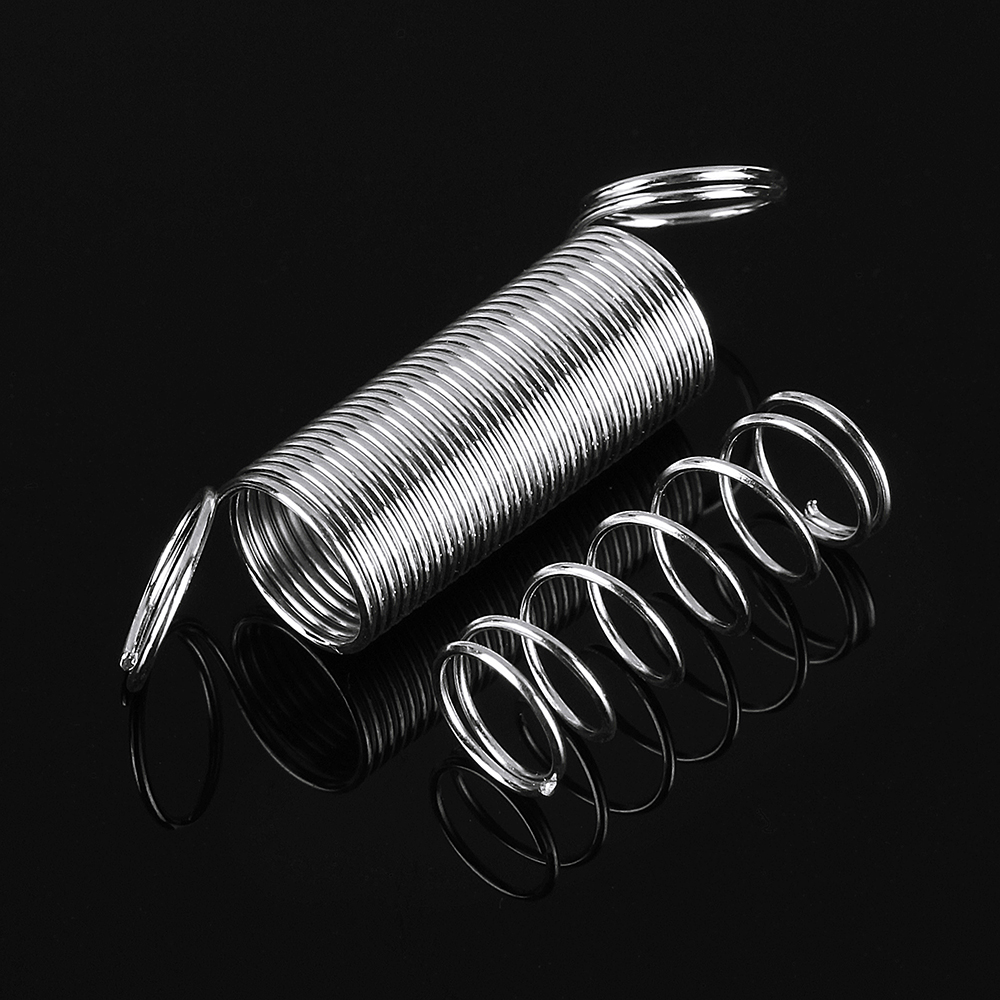 Suleve™ 200Pcs Steel Springs Electrical Drum Extension Tension Spring Exerciser Pressure Suit