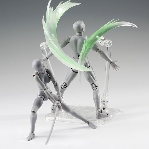 Anime Star Soul Effect Burning Flame Green For Bandai Tamashii Saint Seiya Gundam
