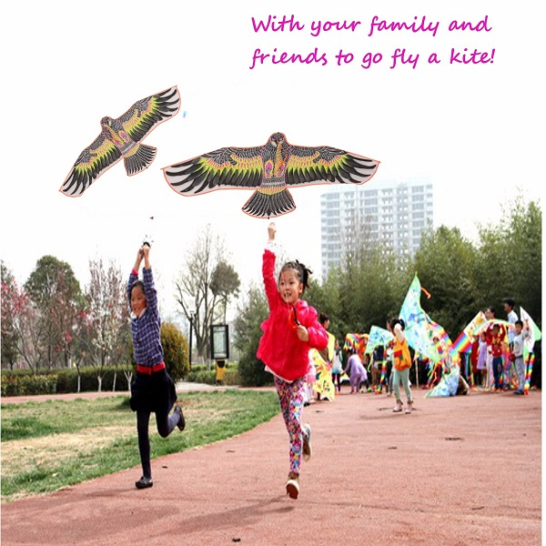 1.6 m Flying Huge Eagle Kite Outdoor Fun Sport Animal Kites Children's Toy