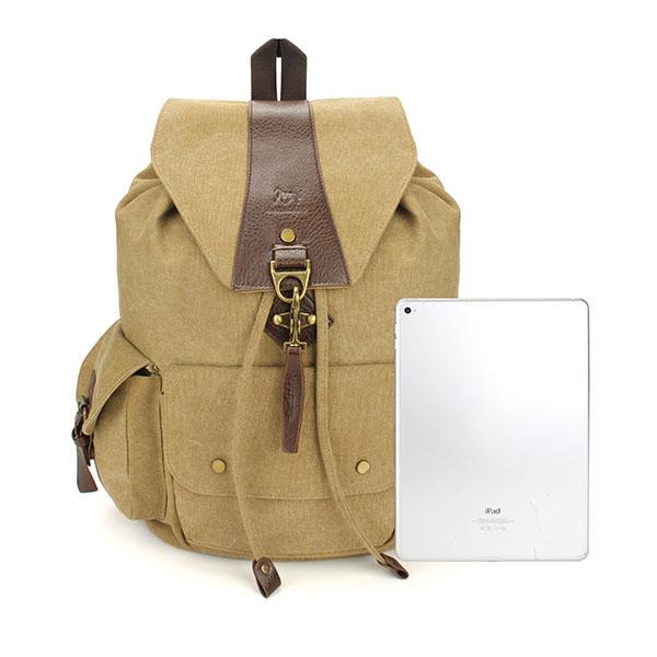 Casual Vintage Men's Backpacks Canvas Women Backpack School Bags