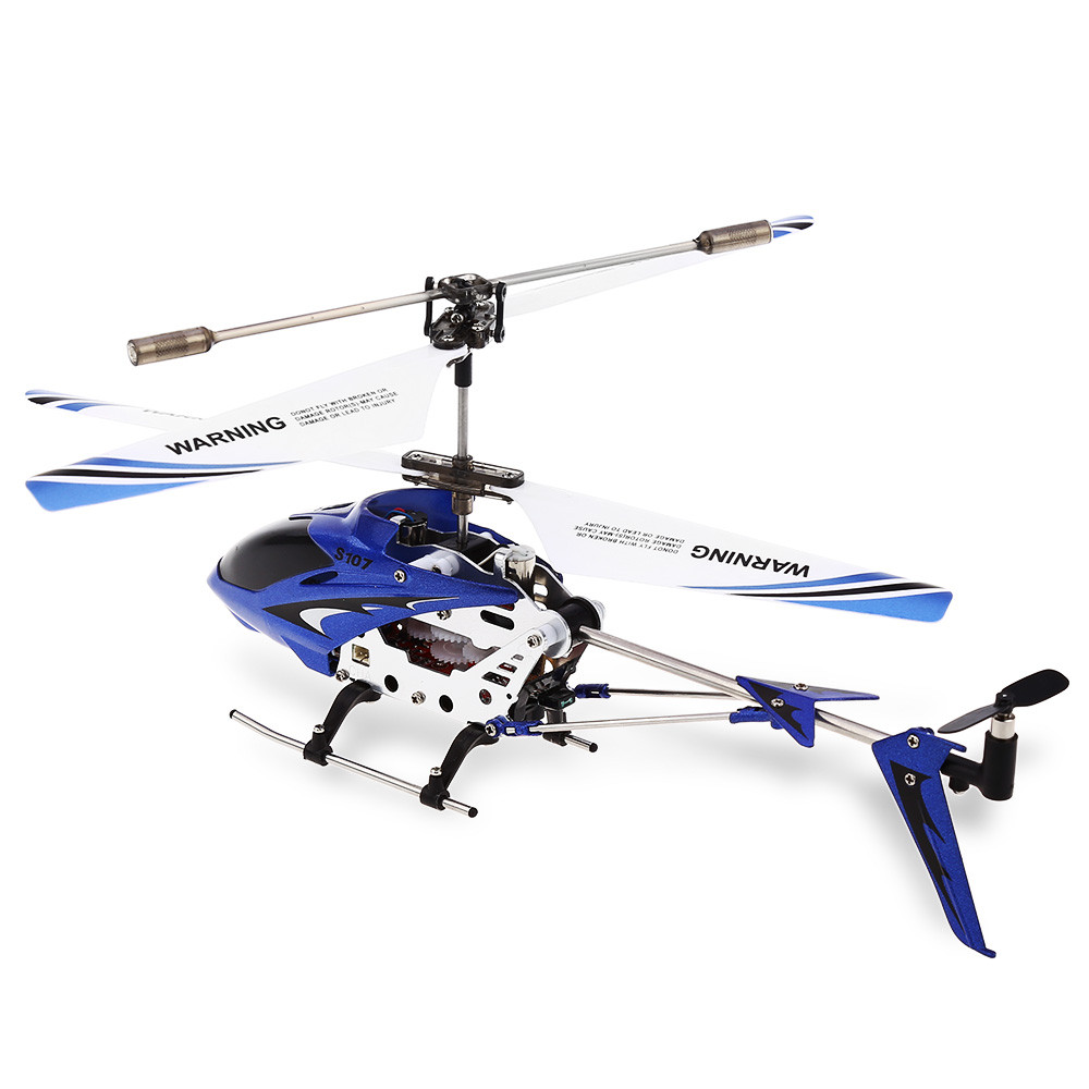 SYMA S107G 3CH Infrared Mini RC Helicopter With Gyro RTF - Photo: 3