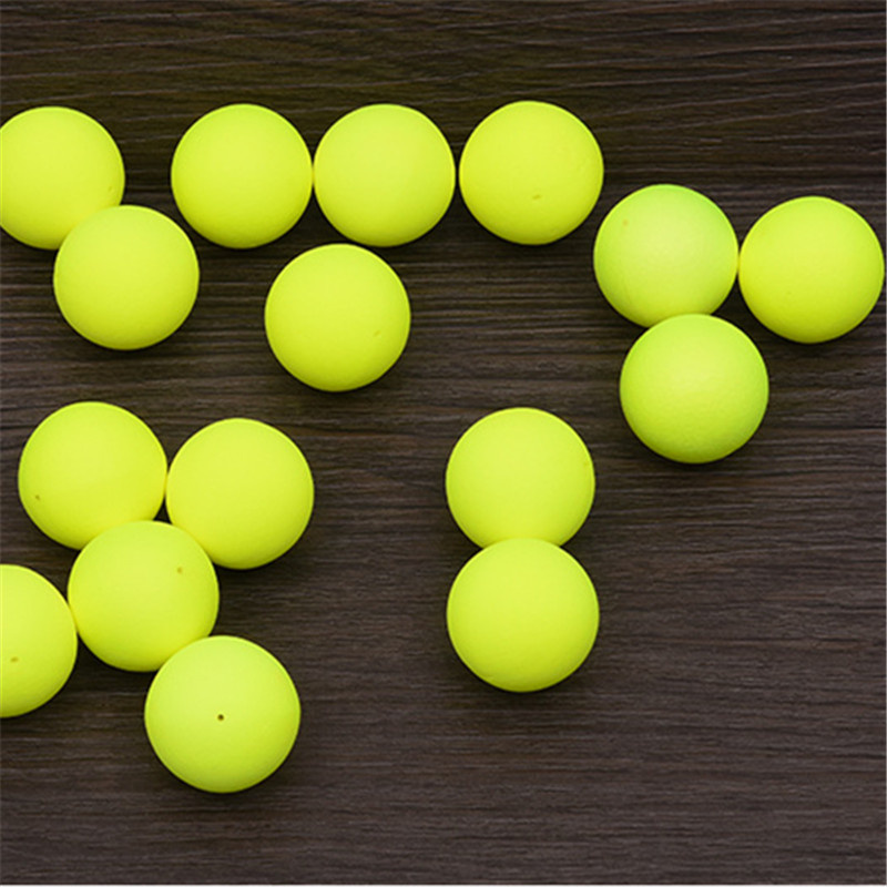 LEO 30PCS EPS Foam Fishing Float Balls Outdoor Fishing Buoyancy Ball Lure Accessory