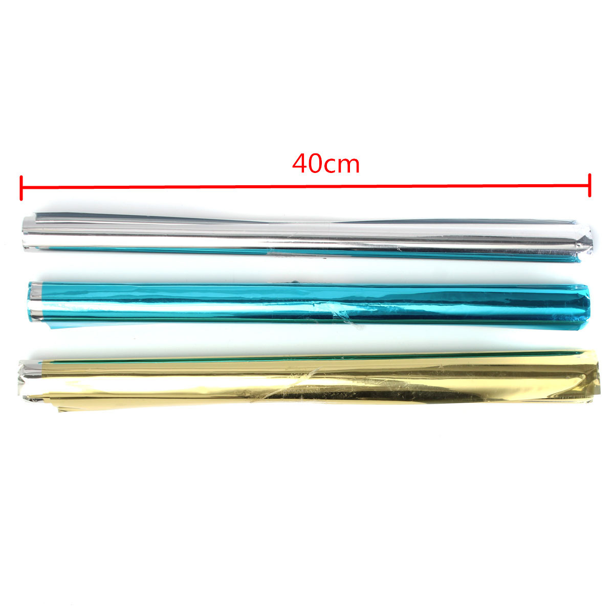 40mm Reflective Mirror Window Grass Film Tint Self Adhesive Sticky Sticker