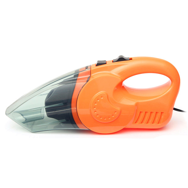 12V 120W Car Interior Vacuum Cleaner Handheld Wet Dry Dual Use Dust Dirt Cleaner