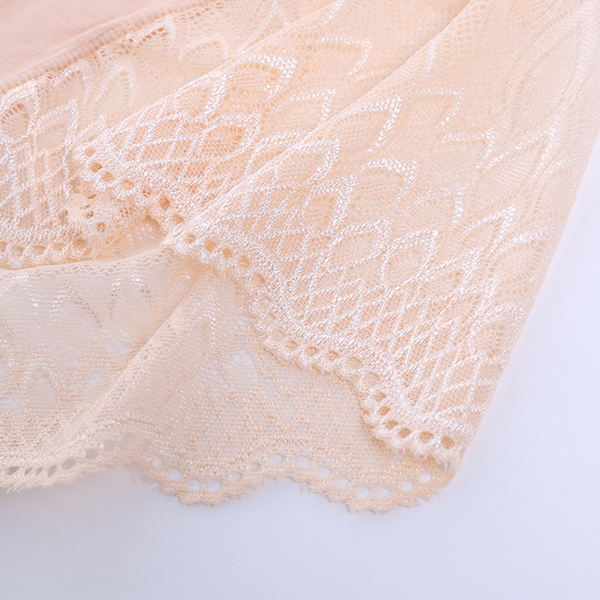Comfort Mid Waist Soft Lace Patchwork Woman Underwear