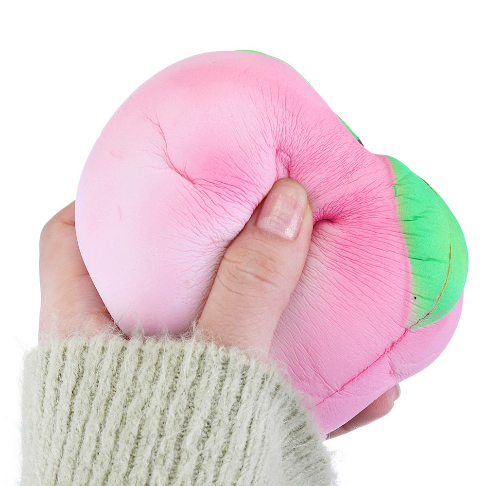 Temperature Sensitive Color Changing Squishy 10cm Peach Fruit Squishy Slow Rising Toy