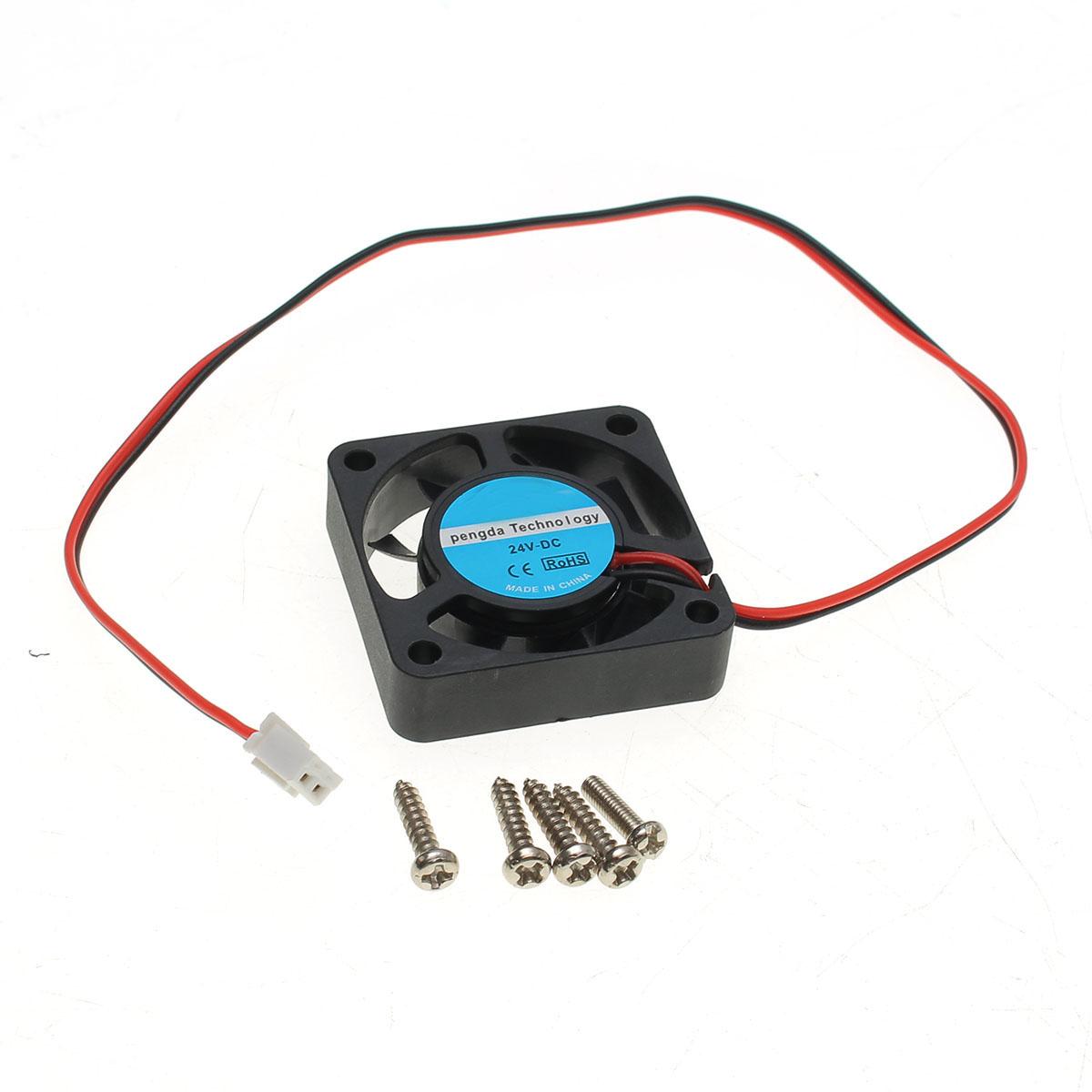 3pcs Original Hiland Heat Sink + Cooling Fan + Mounting Screws Kit For 0-30V 0-28V Universal Power Supply