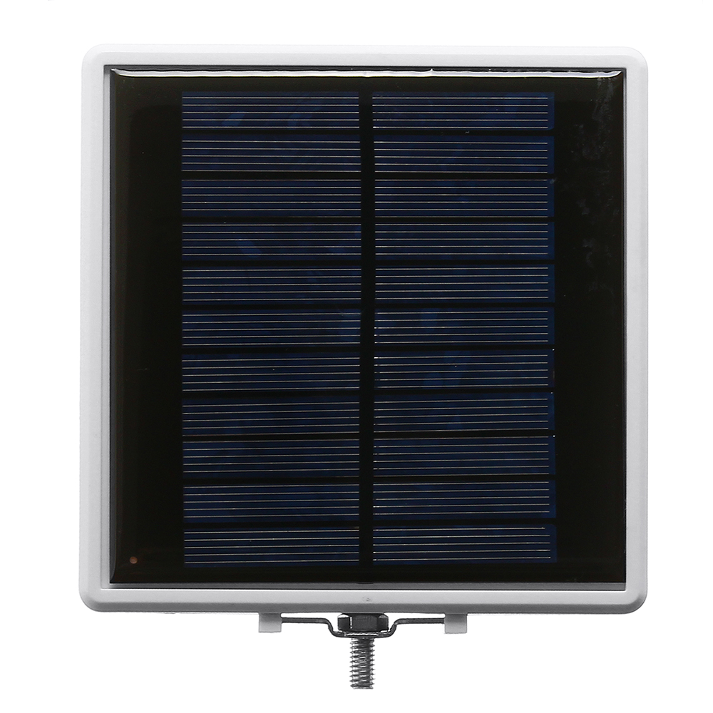 5W Solar Sound Control Colorful Street Light Wall Lamp with Pole Waterproof for Outdoor Road Yard Garden