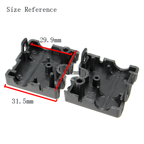 2Pcs Plastic Ultimaker2 Injection Slider for 3D Printer