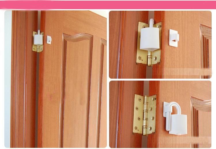 2Psc Child Finger Protection Hand Door Anti-pinch Security Card Door Pinch Foam Guard Stopper