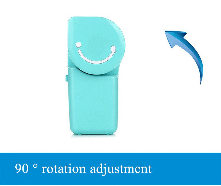 Portable Mini Air Conditioner USB Rechargeable Handheld Desktop Cooling Fan Built-in Battery