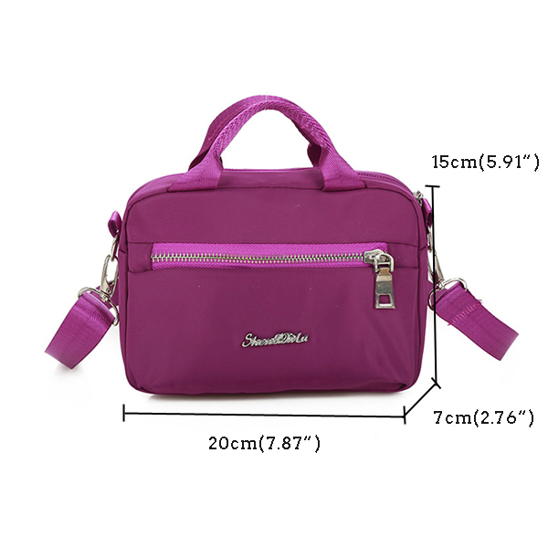 Waterproof Multi-pattern Nylon Bag Shoulder Bag