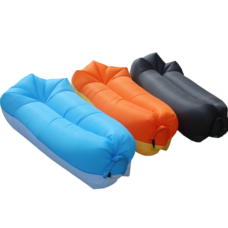 IPRee™ Outdoor Travel Maple-Style Lazy Sofa Fast Air Inflatable Sleeping Bed Lounger Outing Beach Lay Bag
