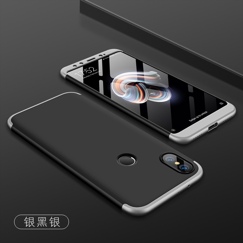 Bakeey™ 3 in 1 Double Dip 360° Full Protection PC Protective Case For Xiaomi Redmi S2 / Xiaomi Redmi Y2