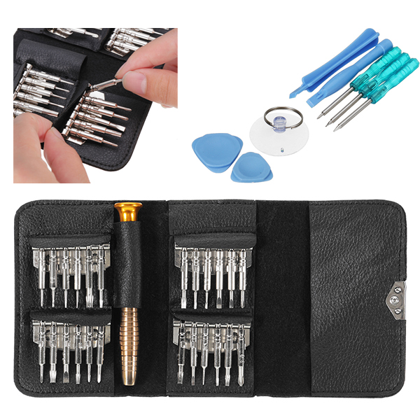 33 in 1 Cell Phone Repair Tools Torx Wallet Screwdriver Repair Tool Set for iPhone Cellphone Xiaomi