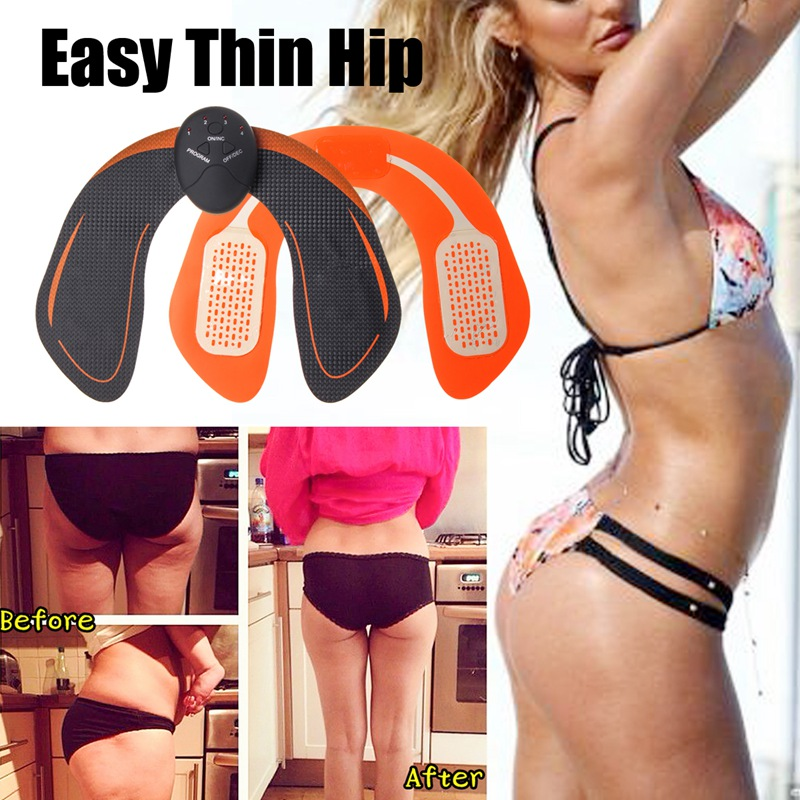 EMS Hip Trainer ABS Buttock Lifting Electric Smart Muscle Simulation Butt Shaper Body Fitness