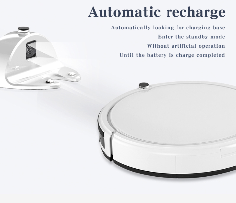 XSHUAI HXSG1 Smart Robot Vacuum Cleaner Sweeping and Mopping Cleaner Remote Control Anti-drop 4 Clean Mode
