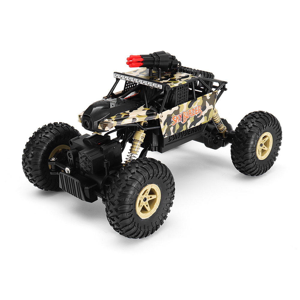 Wltoys 18428-A 1/18 2.4G 4WD Missile Rc Car With 0.3MP