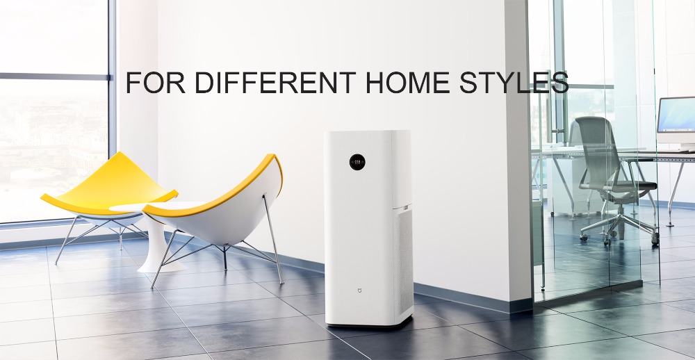 Xiaomi Mi Air Purifier MAX Intelligent Oxygen Bar Clear Formaldehyde Smog Dust with Triple-layer Filter APP Remote Control for Household Indoor Office Bedroom