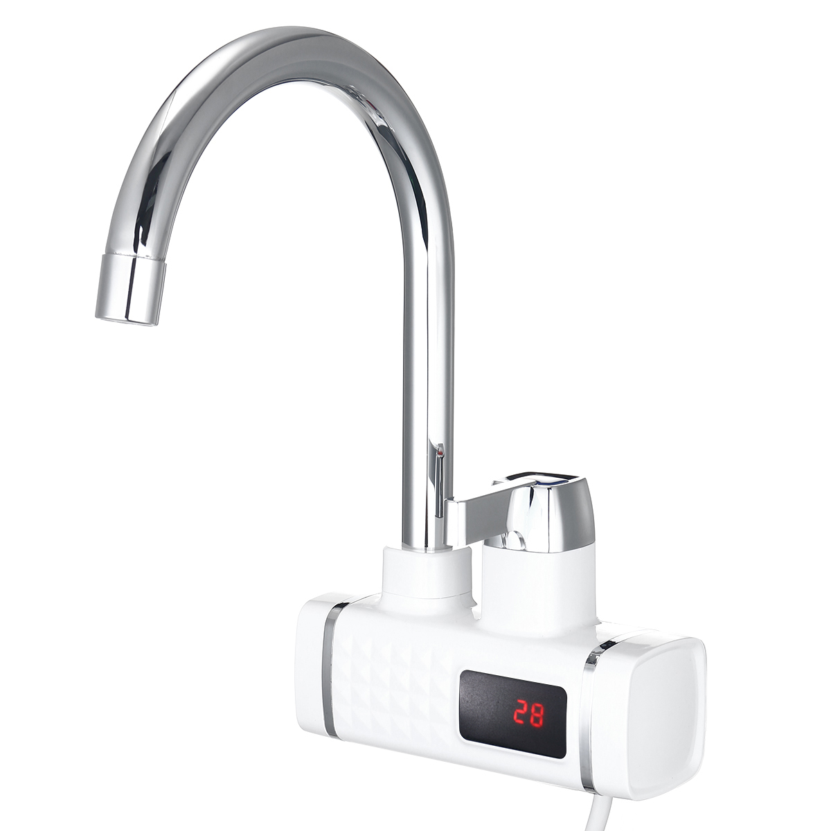 LED Display 220V 3000W Electric Faucet Tap Hot Water Heater Instant Home Kitchen Bathroom