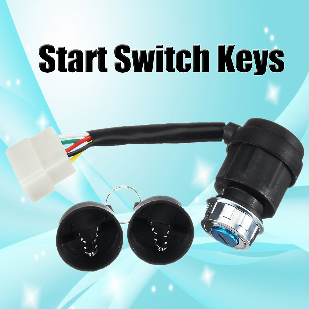5pin Ignition Switch with Keys For Diesel Generator Apollo Power ETQ Changfa Xingyue
