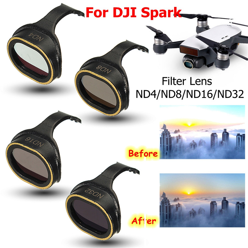 GIMBAL Camera Lens Filter STAR/MCUV/CPL/ND4/ND8/ND16/ND32 For DJI Spark RC Drone