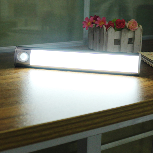 LED Closet Light 33 LED Rechargeable Motion Sensor Night Light for Kitchen Cabinet Stairs Wardrobe