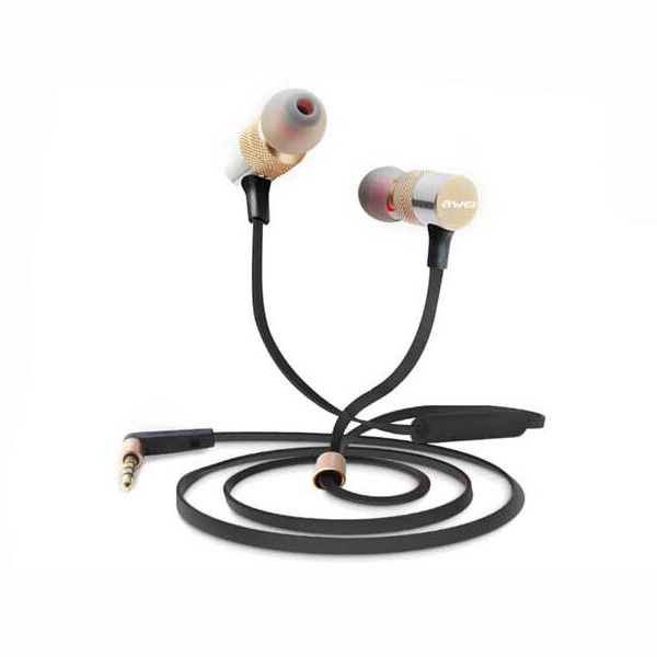 Awei ES 20TY In Ear Heavy Bass Noise Isolating with Microphone Universal Earphone