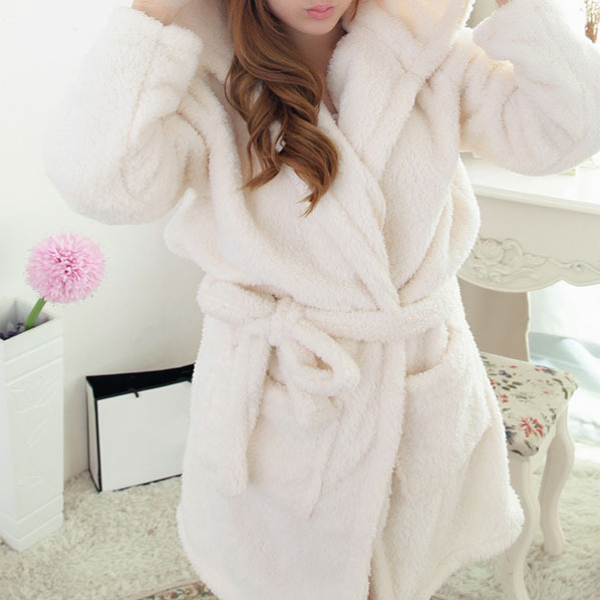 Warm Thicken Soft Animals Robes