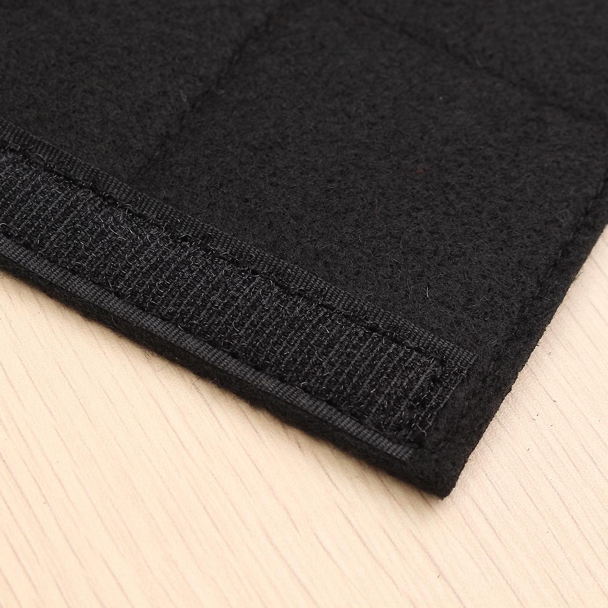Car Seat Belt Covers Seat Belt Pads Strap Shoulder Pad Black Chemical Fiber Felt