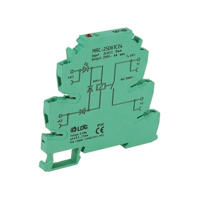 24V Relay Board Solid State Relay MRC-25D61C24 Intermediate Relay