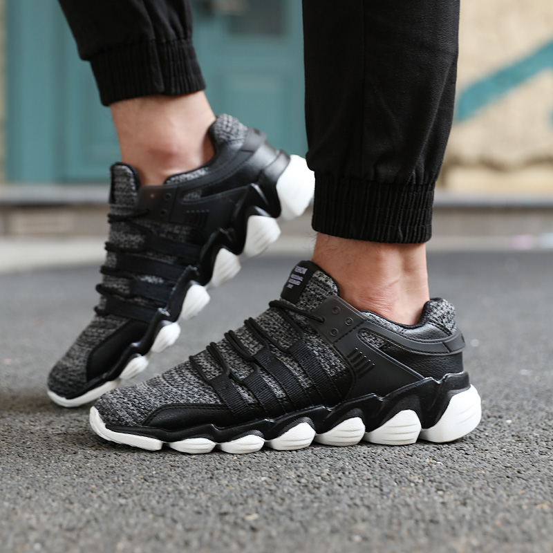 Men's Casual Sports Shoes Breathable Soft Athletic Sneakers Running Shoes