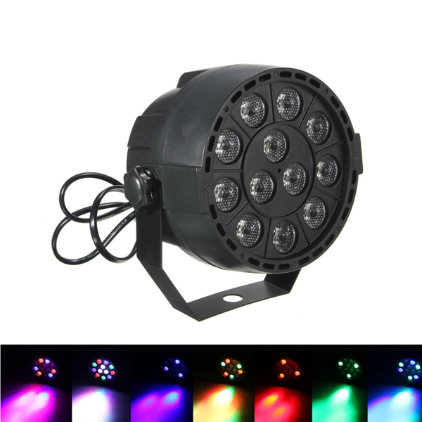 15W RGB LED DMX-512 Stage Lighting Laser Strobe Projector Party DJ Disco Lamp