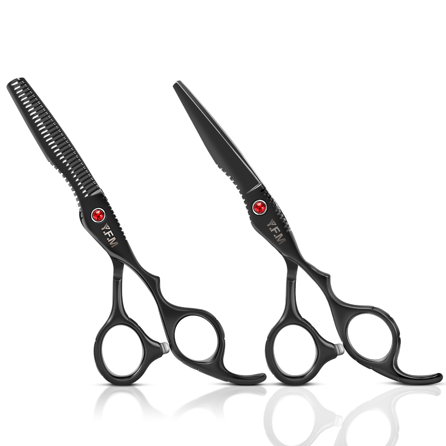6Cr 6 inch Stainless Steel Salon Hair Scissors Thinning