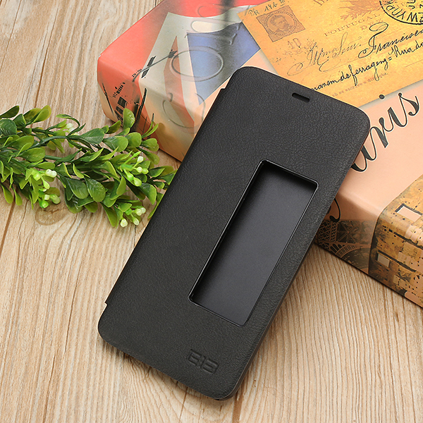 Original Flip Smart View Window PU Leather Protective Case For Elephone S7