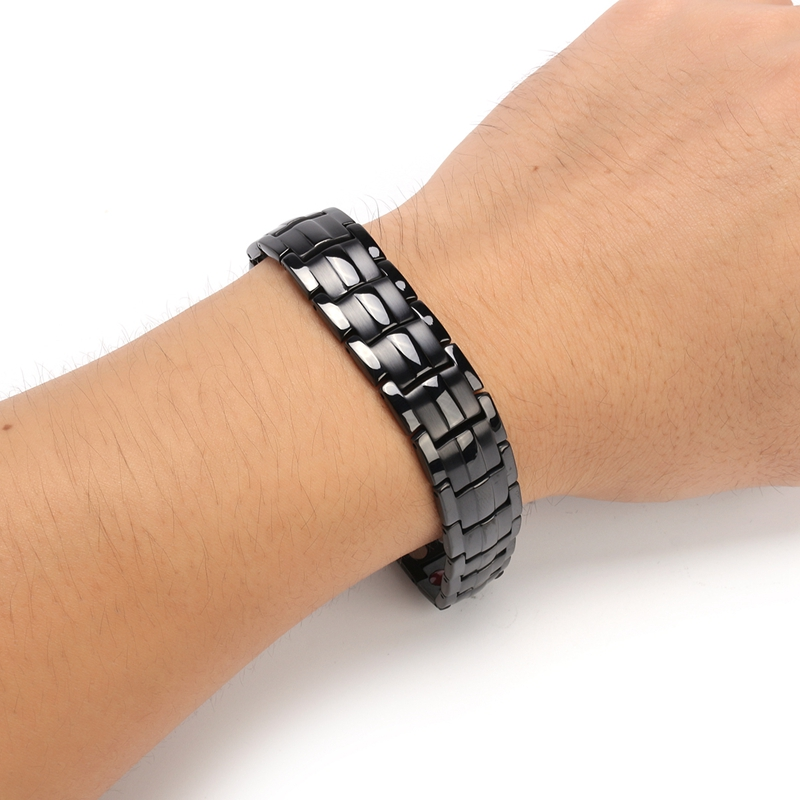 Stainless Steel 4 in 1 Strong Magnetic Therapy Bracelet
