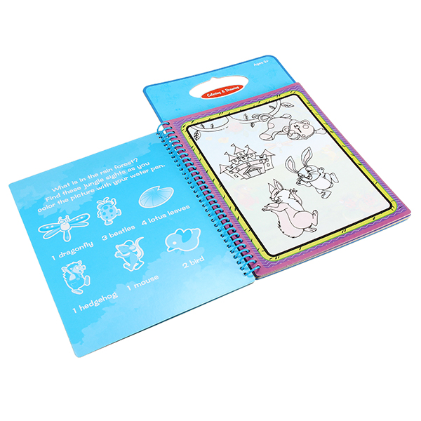 Coolplay Magic Children Water Drawing Book With 1 Magic Pen / 1Coloring Book Water Painting Board
