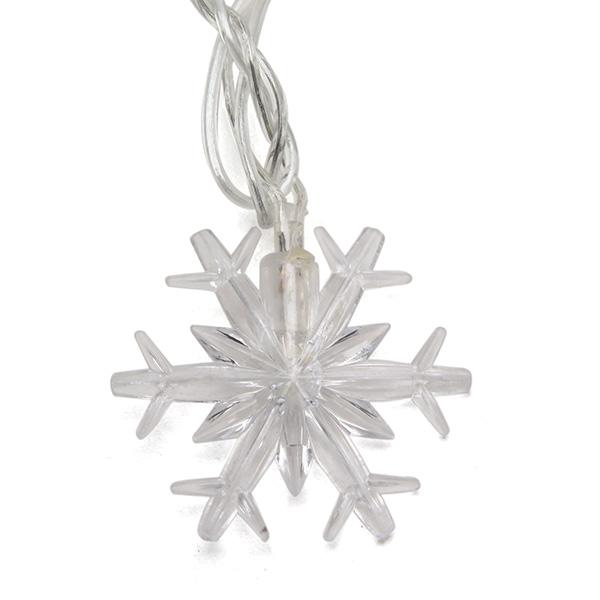 4M Little Snowflake RGB LED String Light For Decoration Festival Holiday Party 110V-220V